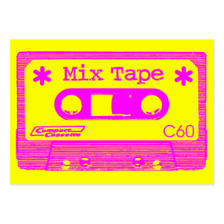 Mix Tape Pop III Large Business Card