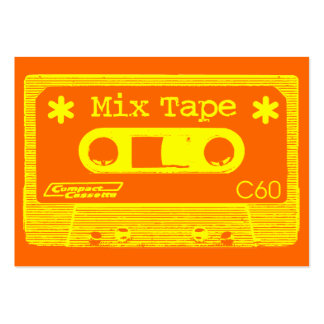 Mix Tape Pop Large Business Card
