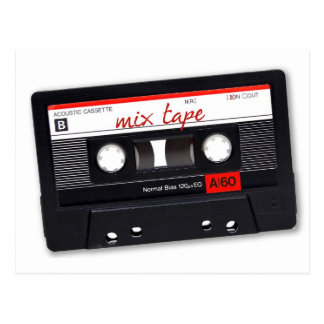 Mix Tape Postcard