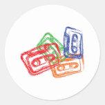 Mix Tapes - DJ Disc Jockey Sticker
