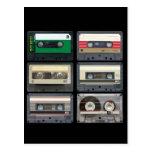 Mix Tapes Postcard