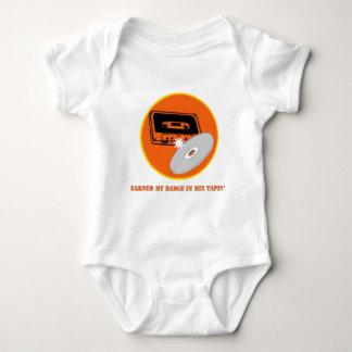 Mix Tapin' Badge Baby Bodysuit