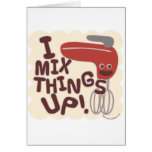 Mix Things Up! Greeting Card