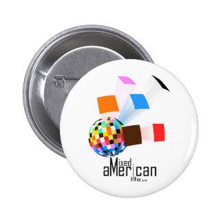 Mixed American Life Button