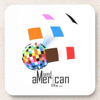 Mixed American Life Drink Coaster
