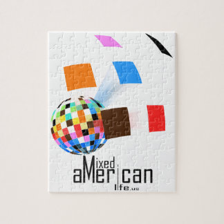 Mixed American Life Jigsaw Puzzle
