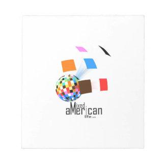 Mixed American Life Notepad