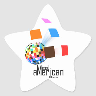 Mixed American Life Star Sticker