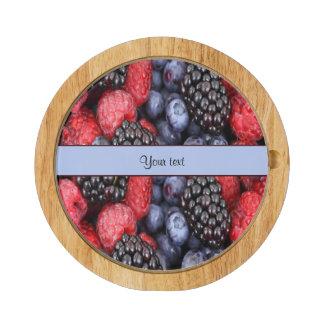 Mixed Berries Cheese Platter