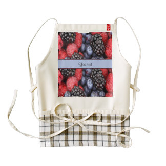 Mixed Berries Zazzle HEART Apron