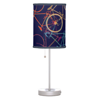mixed bicycles table lamp