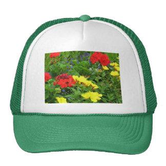 Mixed Blooms Olympia Farmer' s Market Garden Trucker Hat