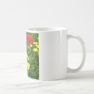 Mixed Blooms Olympia Farmer' s Market Garden Coffee Mugs