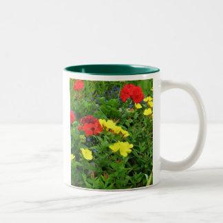 Mixed Blooms Olympia Farmer' s Market Garden Mug
