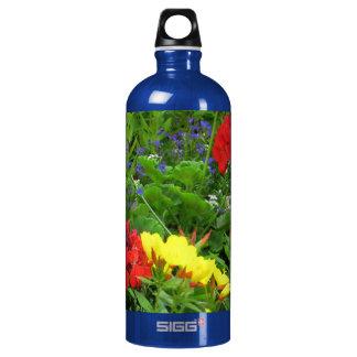 Mixed Blooms Olympia Farmer' s Market Garden SIGG Traveler 1.0L Water Bottle