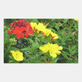 Mixed Blooms Olympia Farmer' s Market Garden Stickers
