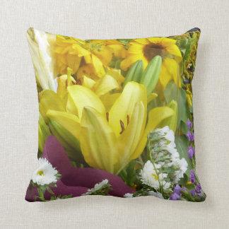 Mixed Bouquet American MoJo Pillows