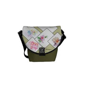 Mixed Bouquet Messenger Bag