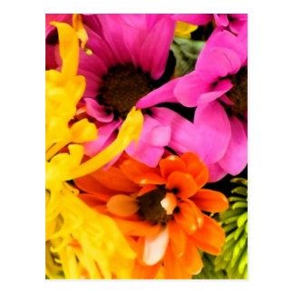 Mixed bouquet postcard
