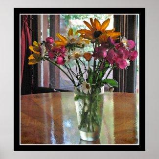 Mixed Bouquet print