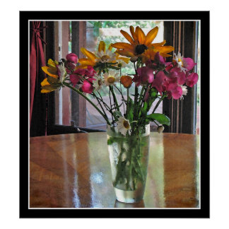 Mixed Bouquet Posters