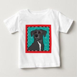 Mixed Breed Cartoon Baby T-Shirt