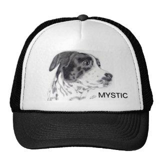 Mixed Breed Dog Cap original artwork- Carol Zeock Trucker Hat