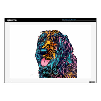 Mixed Breed Dog Decal For Laptop