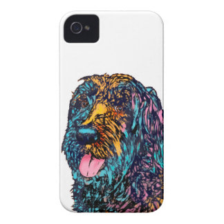 Mixed Breed Dog iPhone 4 Cover