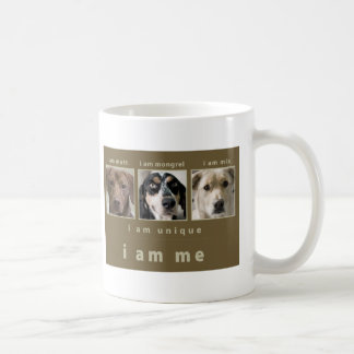 Mixed Breed: I Am Me Classic White Coffee Mug