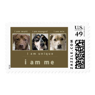 Mixed Breed: I Am Me Postage