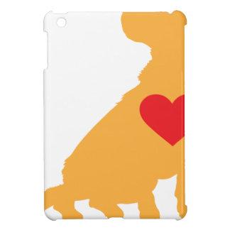Mixed Breed Silhouette iPad Mini Covers