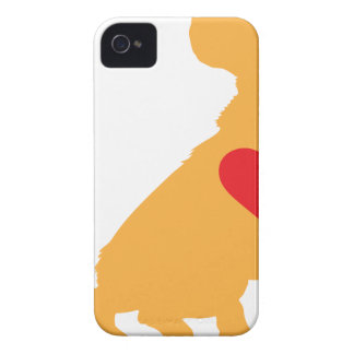 Mixed Breed Silhouette iPhone 4 Covers