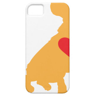 Mixed Breed Silhouette iPhone SE/5/5s Case