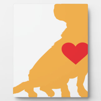 Mixed Breed Silhouette Plaque