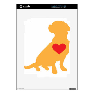 Mixed Breed Silhouette Skin For The iPad 2
