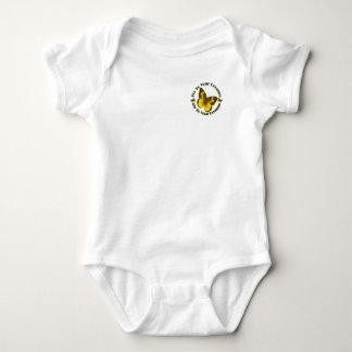 Mixed Butterflies Baby Bodysuit