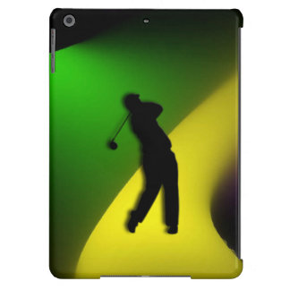 Mixed Colors Male Golf iPad Air Case