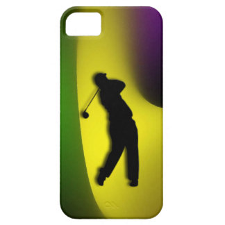 Mixed Colors Male Golf iPhone 5/5S Case