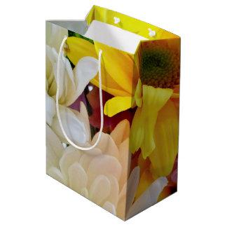 Mixed Daisies Bouquet-Medium Gift Bag