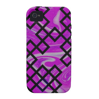 mixed directions pink Case-Mate iPhone 4 cover
