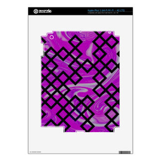 mixed directions pink iPad 3 decal