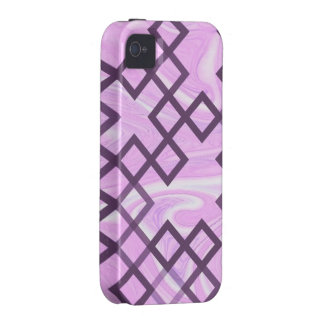 mixed directions soft pink iPhone 4 cases