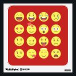 "mixed emoji wall sticker<br><div class=""desc"">assorted mixed emoji</div>"
