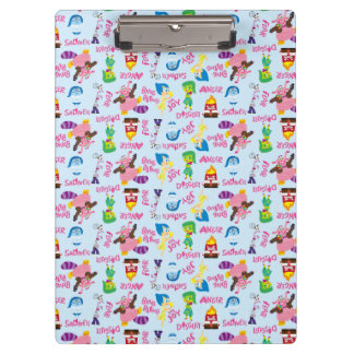 Mixed Emotions Pattern Clipboard