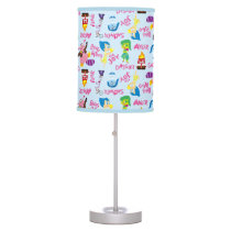 Mixed Emotions Pattern Desk Lamp