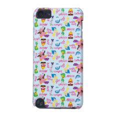Mixed Emotions Pattern iPod Touch (5th Generation) Case at Zazzle