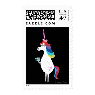 Mixed Emotions Postage Stamp