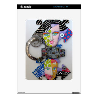 """""""Mixed Emotions"""" Skin For The iPad"""