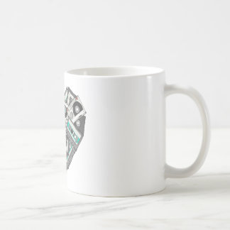 Mixed Feelings Cassette Tape Heart Coffee Mug